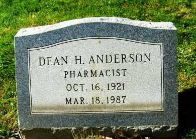 ANDERSON, DEAN H. - Boulder County, Colorado | DEAN H. ANDERSON - Colorado Gravestone Photos
