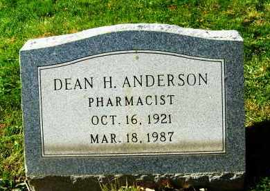 ANDERSON, DEAN H. - Boulder County, Colorado | DEAN H. ANDERSON - Colorado Gravestone Photos