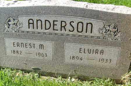 ANDERSON, ELVIRA - Boulder County, Colorado | ELVIRA ANDERSON - Colorado Gravestone Photos