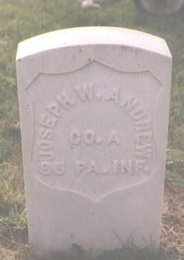ANDREW, JOSEPH W. - Boulder County, Colorado   JOSEPH W. ANDREW - Colorado Gravestone Photos