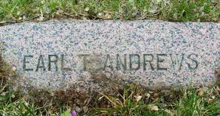 ANDREWS, EARL T. - Boulder County, Colorado   EARL T. ANDREWS - Colorado Gravestone Photos