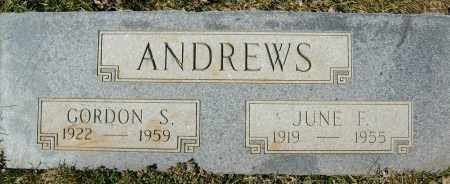 ANDREWS, GORDON S. - Boulder County, Colorado | GORDON S. ANDREWS - Colorado Gravestone Photos