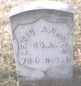 ANDROS, LEWIS - Boulder County, Colorado | LEWIS ANDROS - Colorado Gravestone Photos