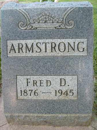ARMSTRONG, FRED D. - Boulder County, Colorado | FRED D. ARMSTRONG - Colorado Gravestone Photos