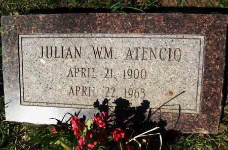 ATENCIO, JULIAN WM. - Boulder County, Colorado   JULIAN WM. ATENCIO - Colorado Gravestone Photos