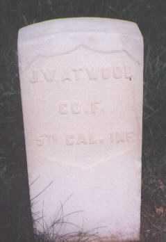 ATWOOD, J. W. - Boulder County, Colorado | J. W. ATWOOD - Colorado Gravestone Photos