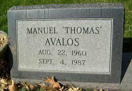 """AVALOS, MANUEL """"THOMAS"""" - Boulder County, Colorado   MANUEL """"THOMAS"""" AVALOS - Colorado Gravestone Photos"""