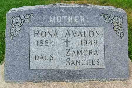 AVALOS, ROSA - Boulder County, Colorado | ROSA AVALOS - Colorado Gravestone Photos