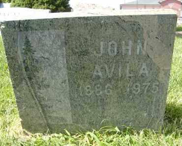 AVILA, JOHN - Boulder County, Colorado | JOHN AVILA - Colorado Gravestone Photos