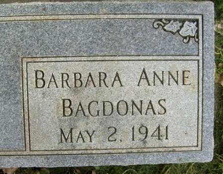 BAGDONAS, BARBARA ANNE - Boulder County, Colorado | BARBARA ANNE BAGDONAS - Colorado Gravestone Photos