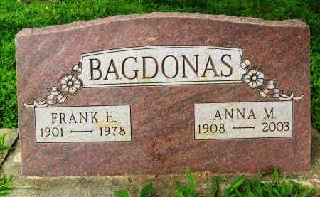 BAGDONAS, FRANK E. - Boulder County, Colorado | FRANK E. BAGDONAS - Colorado Gravestone Photos