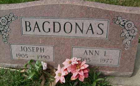 BAGDONAS, ANN L. - Boulder County, Colorado | ANN L. BAGDONAS - Colorado Gravestone Photos