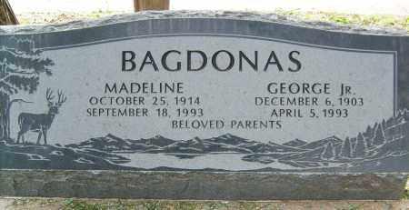 BAGDONAS, GEORGE, JR. - Boulder County, Colorado | GEORGE, JR. BAGDONAS - Colorado Gravestone Photos