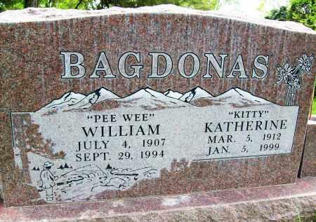 "BAGDONAS, WILLIAM ""PEE WEE"" - Boulder County, Colorado | WILLIAM ""PEE WEE"" BAGDONAS - Colorado Gravestone Photos"