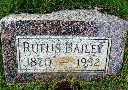 BAILEY, RUFUS - Boulder County, Colorado | RUFUS BAILEY - Colorado Gravestone Photos