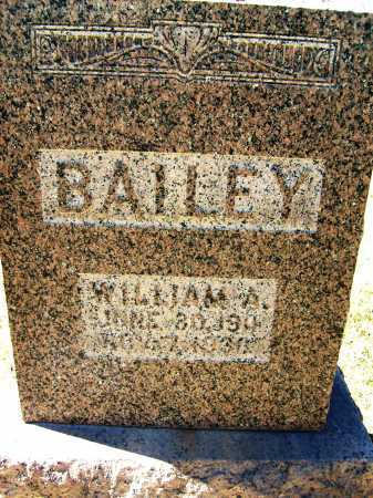 BAILEY, WILLIAM A. - Boulder County, Colorado | WILLIAM A. BAILEY - Colorado Gravestone Photos