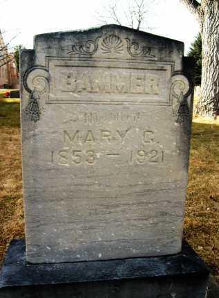 BAMMER, MARY C. OR G. - Boulder County, Colorado | MARY C. OR G. BAMMER - Colorado Gravestone Photos
