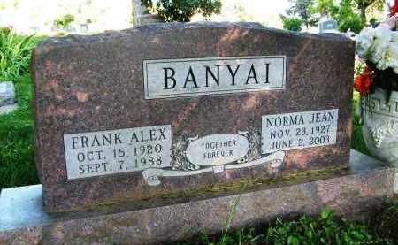 BANYAI, NORMA JEAN - Boulder County, Colorado | NORMA JEAN BANYAI - Colorado Gravestone Photos