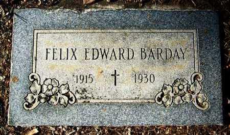 BARDAY, FELIX EDWARD - Boulder County, Colorado | FELIX EDWARD BARDAY - Colorado Gravestone Photos
