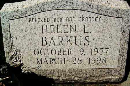 BARKUS, HELEN L. - Boulder County, Colorado   HELEN L. BARKUS - Colorado Gravestone Photos