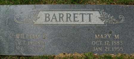 BARRETT, WILLIAM C. - Boulder County, Colorado | WILLIAM C. BARRETT - Colorado Gravestone Photos