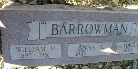 BARROWMAN, WILLIAM H. - Boulder County, Colorado | WILLIAM H. BARROWMAN - Colorado Gravestone Photos