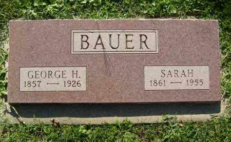 BAUER, GEORGE H. - Boulder County, Colorado | GEORGE H. BAUER - Colorado Gravestone Photos