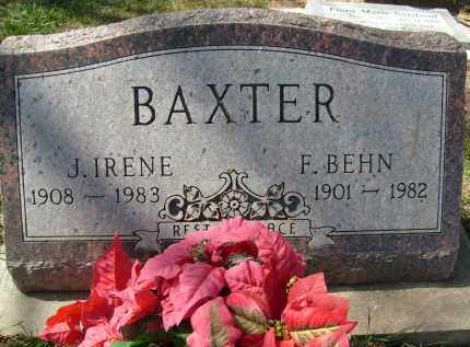 BAXTER, J. IRENE - Boulder County, Colorado | J. IRENE BAXTER - Colorado Gravestone Photos