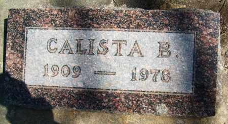 BEASLEY, CALISTA B. - Boulder County, Colorado | CALISTA B. BEASLEY - Colorado Gravestone Photos