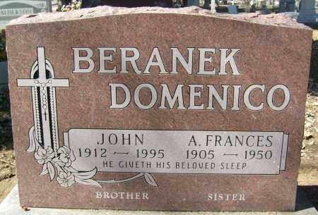 BERANEK, JOHN - Boulder County, Colorado   JOHN BERANEK - Colorado Gravestone Photos