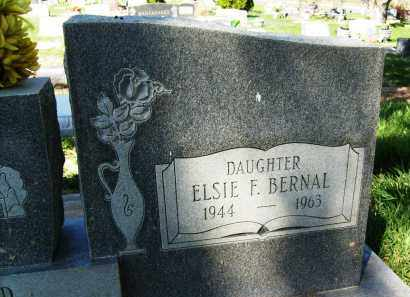 BERNAL, ELSIE F. - Boulder County, Colorado | ELSIE F. BERNAL - Colorado Gravestone Photos