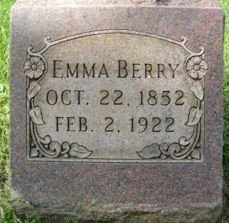 BERRY, EMMA - Boulder County, Colorado | EMMA BERRY - Colorado Gravestone Photos