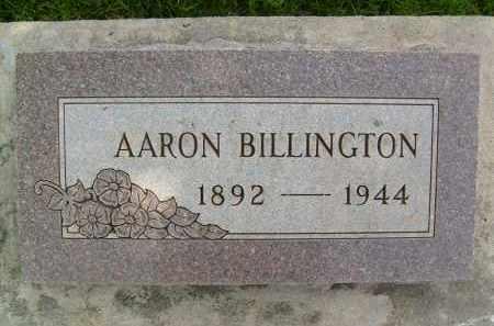 BILLINGTON, AARON - Boulder County, Colorado   AARON BILLINGTON - Colorado Gravestone Photos