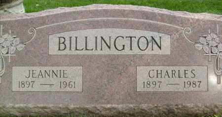 BILLINGTON, JEANNIE - Boulder County, Colorado | JEANNIE BILLINGTON - Colorado Gravestone Photos