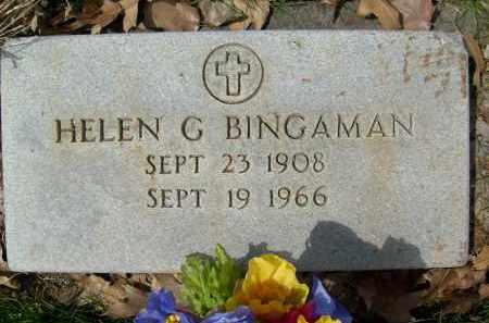 BINGAMAN, HELEN G. - Boulder County, Colorado | HELEN G. BINGAMAN - Colorado Gravestone Photos
