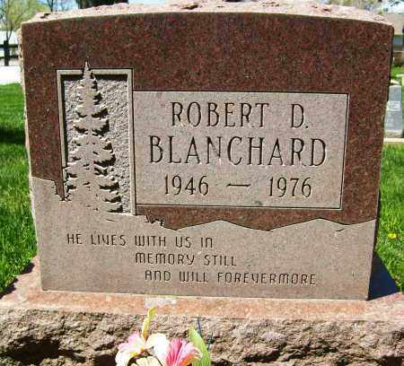 BLANCHARD, ROBERT D. - Boulder County, Colorado | ROBERT D. BLANCHARD - Colorado Gravestone Photos
