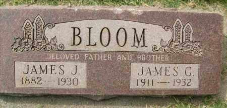 BLOOM, JAMES G. - Boulder County, Colorado | JAMES G. BLOOM - Colorado Gravestone Photos