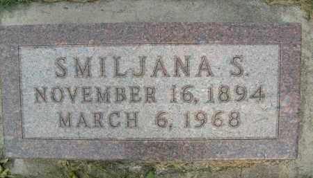 BOKAN, SMILJANA S. - Boulder County, Colorado | SMILJANA S. BOKAN - Colorado Gravestone Photos