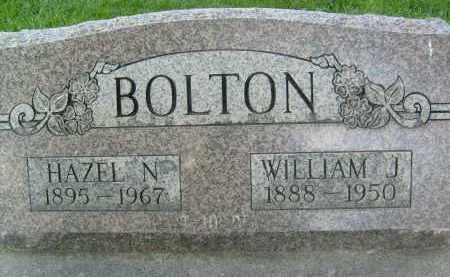 BOLTON, HAZEL N. - Boulder County, Colorado | HAZEL N. BOLTON - Colorado Gravestone Photos