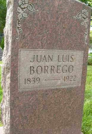 BORREGO, JUAN LUIS - Boulder County, Colorado | JUAN LUIS BORREGO - Colorado Gravestone Photos