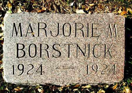 BORSTNICK, MARJORIE M. - Boulder County, Colorado | MARJORIE M. BORSTNICK - Colorado Gravestone Photos