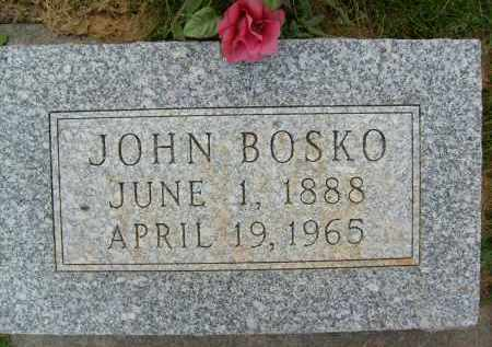 BOSKO, JOHN - Boulder County, Colorado | JOHN BOSKO - Colorado Gravestone Photos