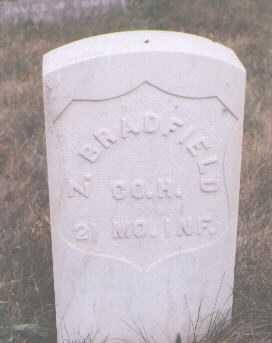 BRADFIELD, Z. - Boulder County, Colorado   Z. BRADFIELD - Colorado Gravestone Photos