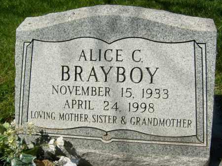 BRAYBOY, ALICE C. - Boulder County, Colorado | ALICE C. BRAYBOY - Colorado Gravestone Photos