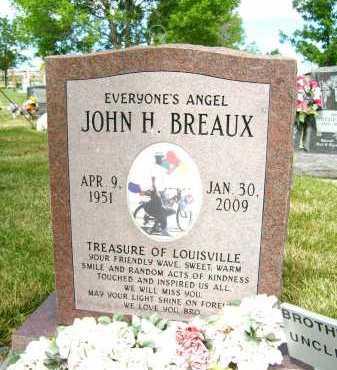 BREAUX, JOHN H. - Boulder County, Colorado   JOHN H. BREAUX - Colorado Gravestone Photos