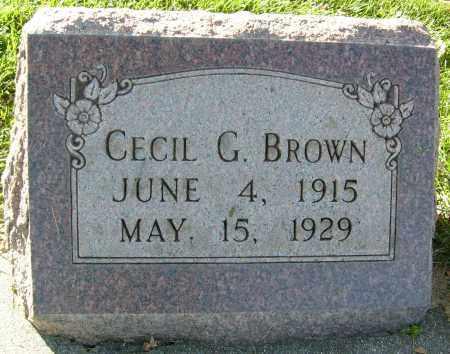 BROWN, CECIL G. - Boulder County, Colorado | CECIL G. BROWN - Colorado Gravestone Photos