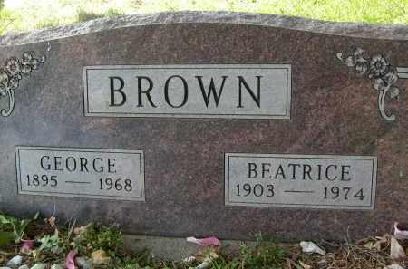 BROWN, BEATRICE - Boulder County, Colorado | BEATRICE BROWN - Colorado Gravestone Photos