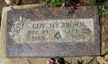 BROWN, GUY JAY - Boulder County, Colorado   GUY JAY BROWN - Colorado Gravestone Photos
