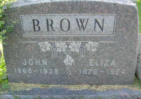 BROWN, ELIZA - Boulder County, Colorado | ELIZA BROWN - Colorado Gravestone Photos