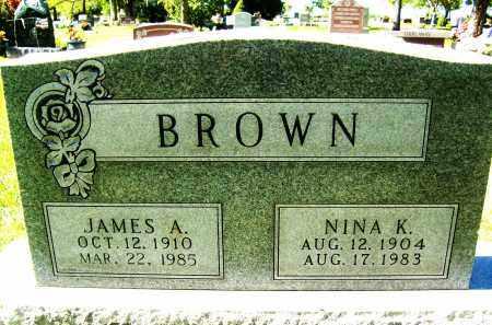 BROWN, JAMES A. - Boulder County, Colorado | JAMES A. BROWN - Colorado Gravestone Photos